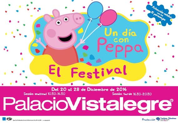 Disfruta de las navidades con peppa pig for Espectaculo peppa pig uruguay