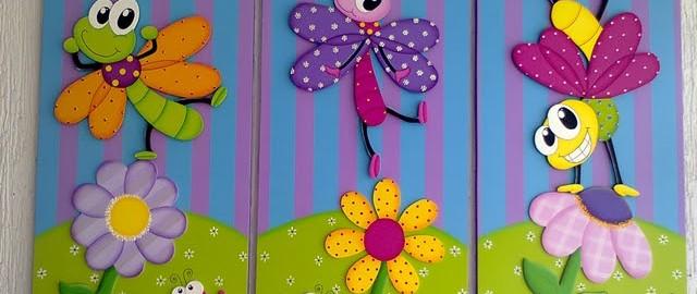 Cuadros infantiles con pintura al leo - Pintura para dormitorios infantiles ...